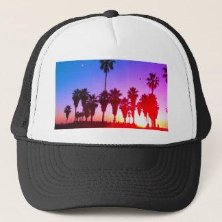 PalmträdVenedig strand Keps