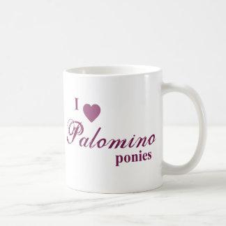Palominoponnyer Vit Mugg