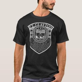 Panama kanalvapensköld: Lägen: Clayton T Shirt