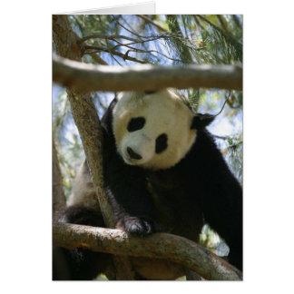 Panda #2 hälsningskort