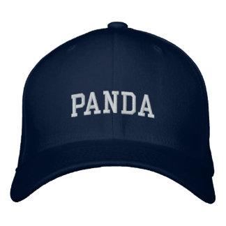 panda broderad keps