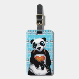 Panda för självmordSquad | Bagagebricka