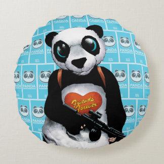 Panda för självmordSquad   Rund Kudde