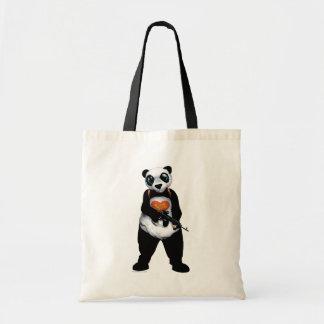 Panda för självmordSquad | Tygkasse