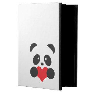 Panda med ett hjärtaiPadfodral iPad Air Fodral