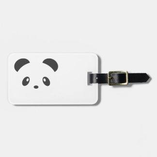 Pandabagagemärkre Bagagebricka