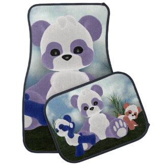 PandaBearz solig dag Bilmatta
