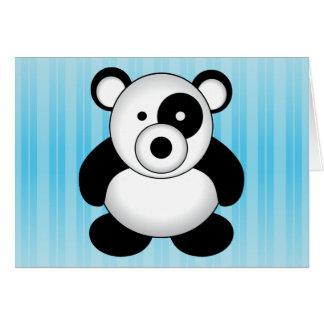 Pandabjörn Hälsningskort