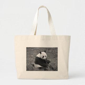 Pandabjörn (svarten & vit) jumbo tygkasse