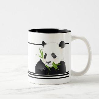 Pandabjörn Två-Tonad Mugg
