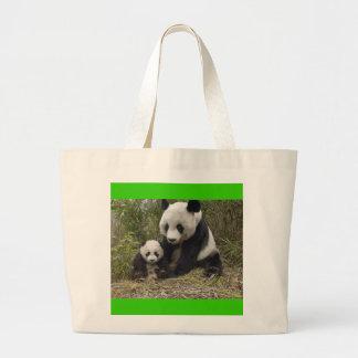 Pandabjörnar Jumbo Tygkasse