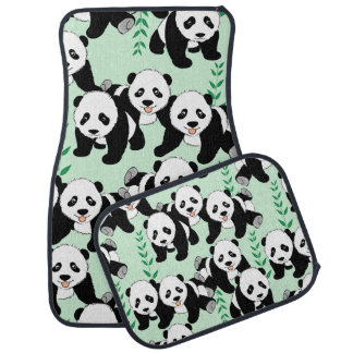 Pandabjörndesign Bilmatta