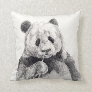 Pandabjörnen skissar kudder kudde