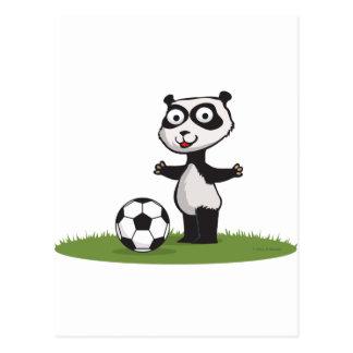 Pandabjörnfotboll Vykort
