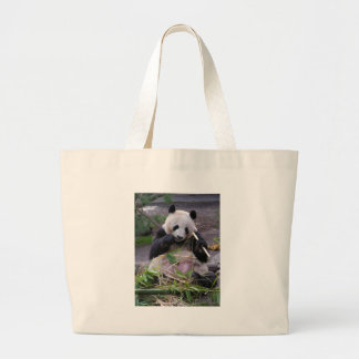 Pandaen hänger lös jumbo tygkasse