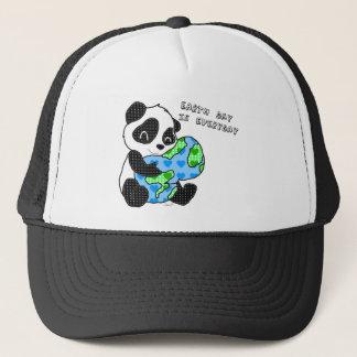 Pandaen kramar jorden/jordens dag keps
