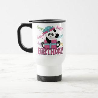 Pandafödelsedag Kaffe Mugg