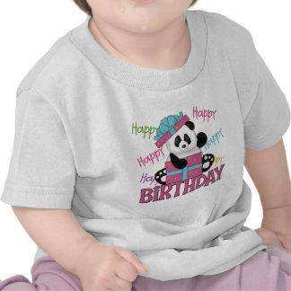 Pandafödelsedag Tee Shirt