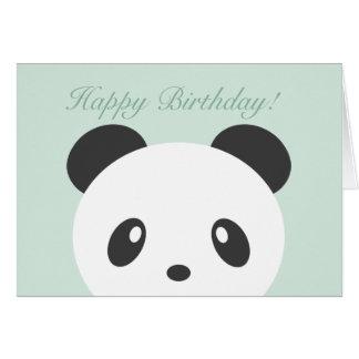 Pandafödelsedagkort Hälsningskort