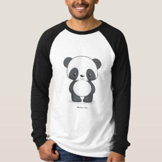 Pandalångärmadmanar T-tröja Tee