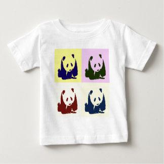 Pandas för popkonstbaby tee
