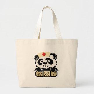 Pandasjuksköterska Jumbo Tygkasse