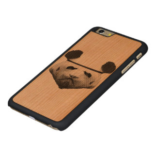 Pandatrooper Carved® Cherry iPhone 6 Plus Skal