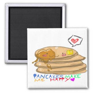 pannkakor gör mig den lyckliga magneten