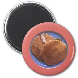 Pannkakor med lönnsirap magnet
