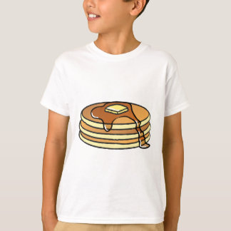 Pannkakor - skjorta för ungar T Tröjor