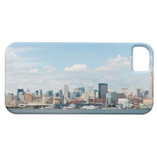 Panorama av midtownen Manhattan över Hudson River iPhone 5 Case-Mate Fodral