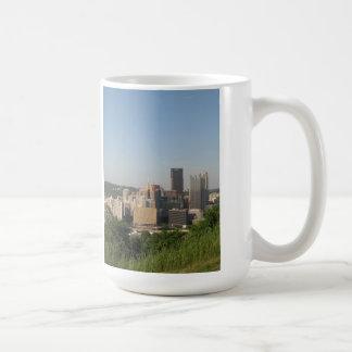 Panorama av Pittsburgh Kaffemugg