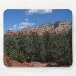 Panorama av röda stenar i Sedona Arizona Musmatta