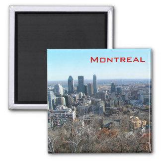 Panorama- beskåda av Montreal Kylskåpsnagnet