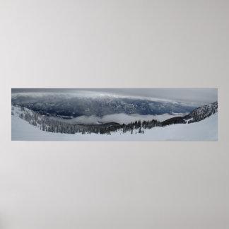 Panorama- Whistler beskådar Poster