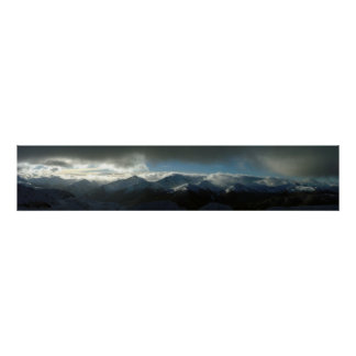 Panorama- Whistler Poster