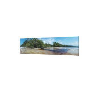 PanoramaCahuita strand Canvastryck