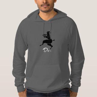 Panorera illustrationen tröja med luva