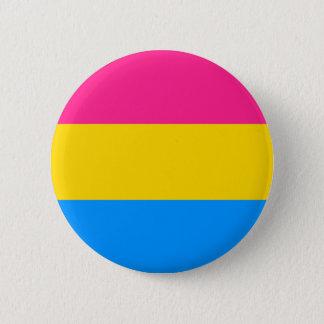 Pansexual pride knäppas standard knapp rund 5.7 cm