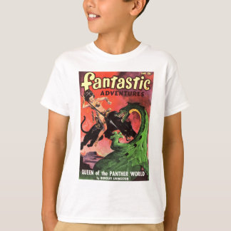 Panter vs Dinosaur Tee Shirt