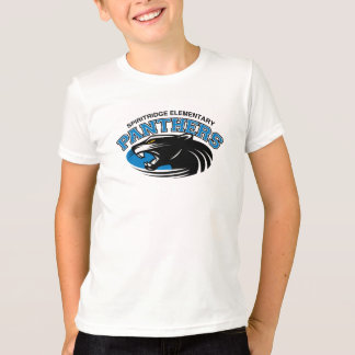 PanterRingerutslagsplats (vit/svarten) T-shirt