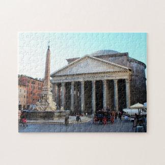 Pantheonen i Rome, italien Pussel
