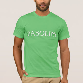 Paolo Pasolini fläktar jublar Tee Shirt