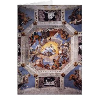 Paolo Veronese: Olympus rum Hälsningskort