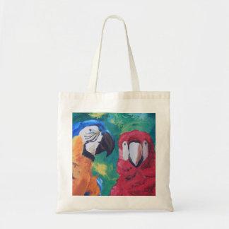 Papegojalove birds tygkassar