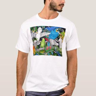 Papegojor av världen t shirts