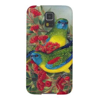 Papegojor Galaxy S5 Fodral