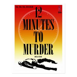Paperbackvykort: 12 noterar för att mörda vykort