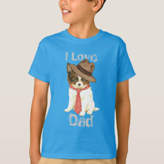 Papillon pappa t-shirts