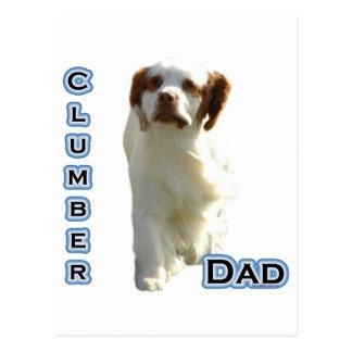 Pappa 4 för Clumber Spaniel Vykort